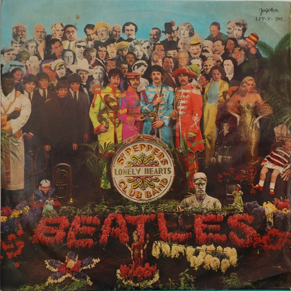 The Beatles - Sgt. Pepper's Lonely Hearts Club Band (LP, Album, Mono)