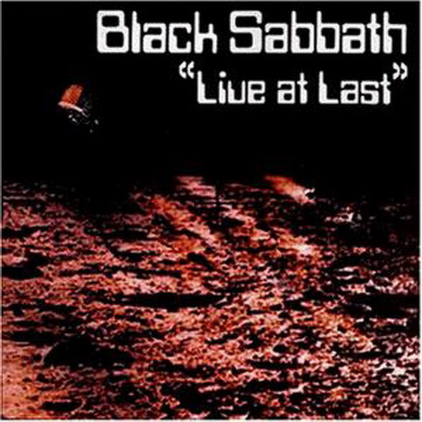 Black Sabbath - Live At Last (LP, Album)