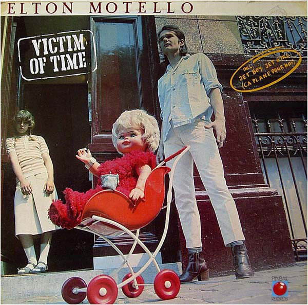 Elton Motello - Victim Of Time (LP, Album, Red)