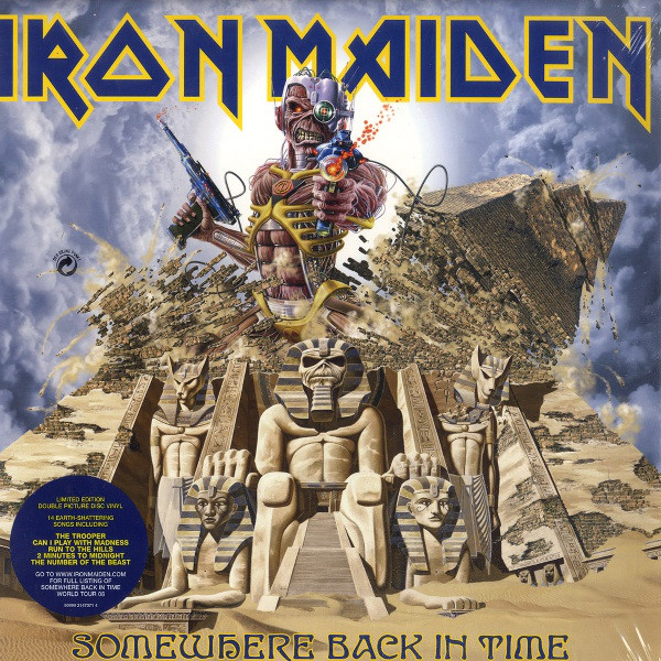 Iron Maiden - Somewhere Back In Time - The Best Of: 1980-1989 (2xLP, Comp, Ltd, Pic, Gat)
