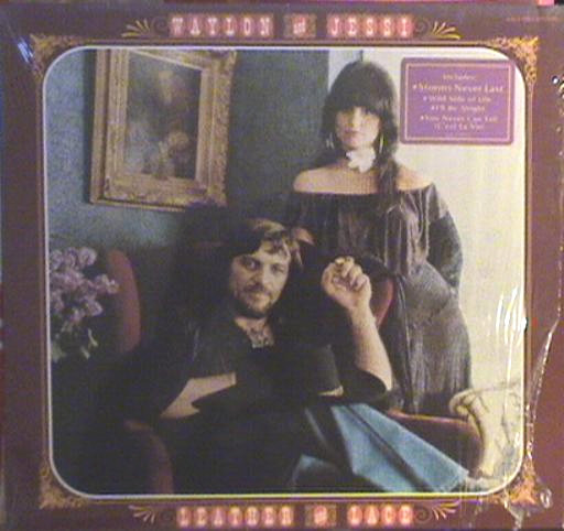 Waylon* And Jessi* - Leather And Lace (LP, Album)
