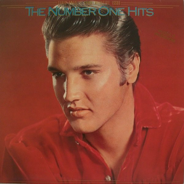 Elvis Presley - The Number One Hits (LP, Comp, RM)