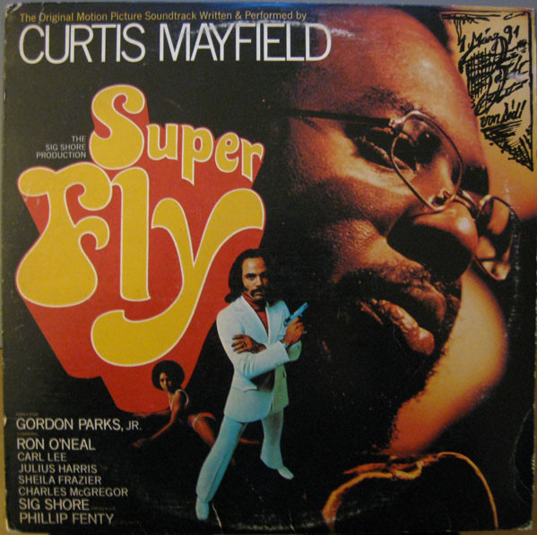 Curtis Mayfield - Super Fly (LP, Album, RE)