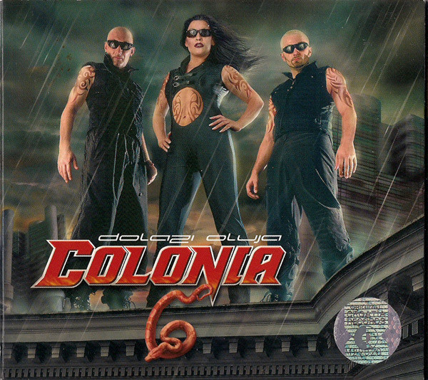 Colonia - Dolazi Oluja (CD, Album + CD-ROM, Enh)