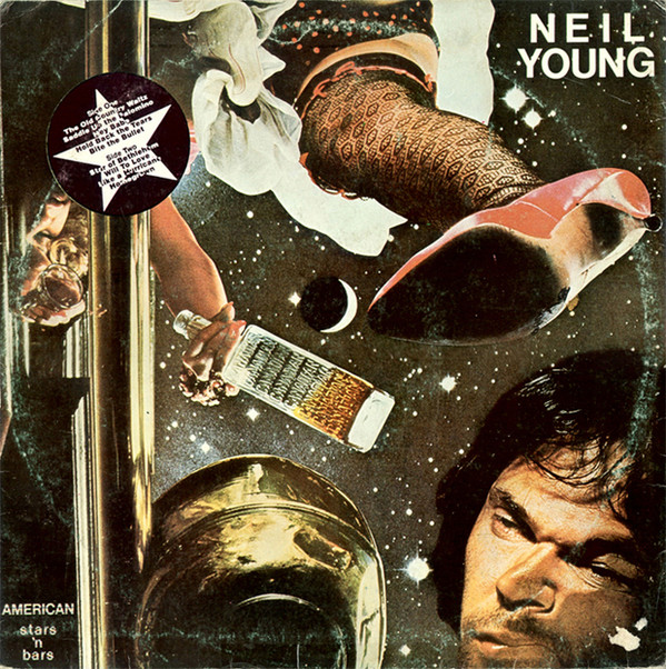 Neil Young - American Stars 'N Bars (LP, Album)