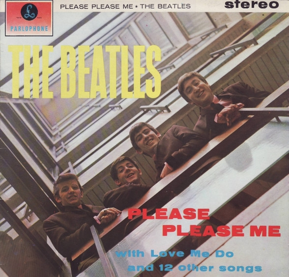 The Beatles - Please Please Me (LP, Album, RE)
