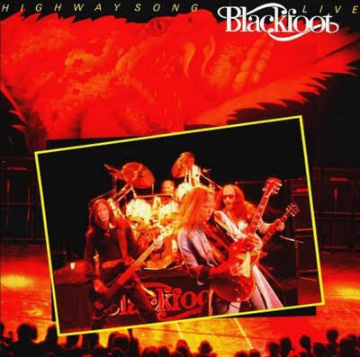 Blackfoot (3) - Highway Song Live (LP, Album)