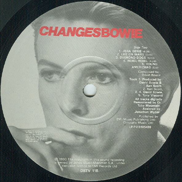 David Bowie - ChangesBowie (2xLP, Comp)