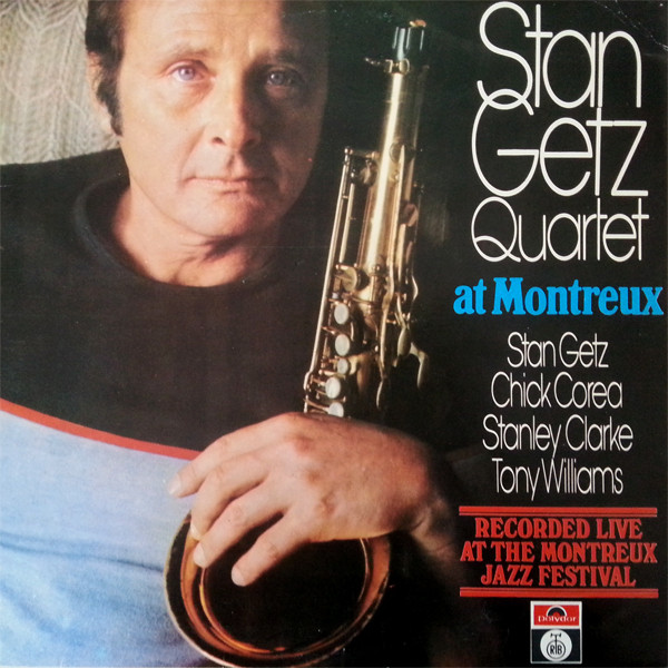 Stan Getz Quartet - At Montreux (LP, Album)