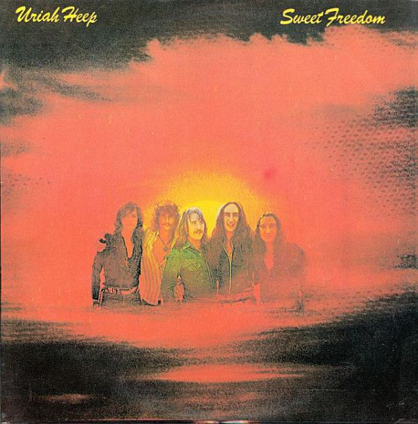 Uriah Heep - Sweet Freedom (LP, Album)
