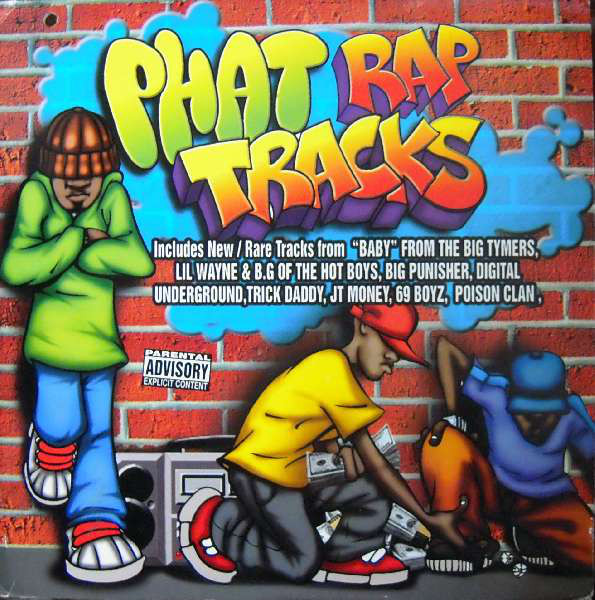 Various - Phat Rap Tracks (2xLP, Comp)
