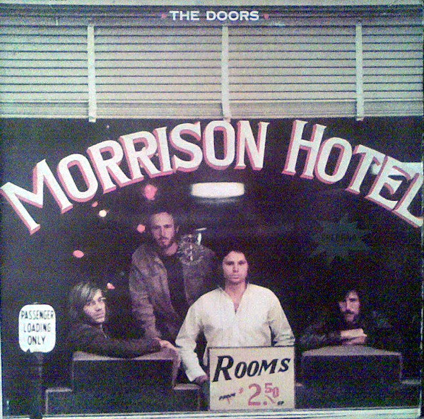 The Doors - Morrison Hotel (LP, Album, RE)