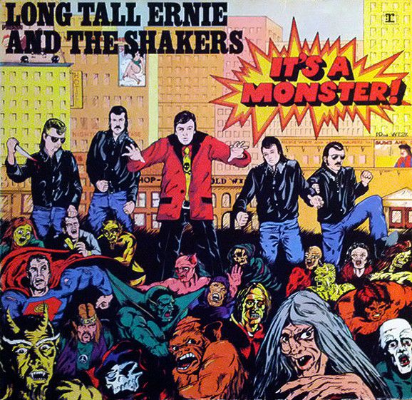 Long Tall Ernie And The Shakers - It's A Monster (LP, Album, Gat)