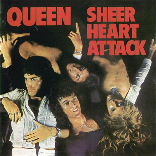 Queen - Sheer Heart Attack (LP, Album)