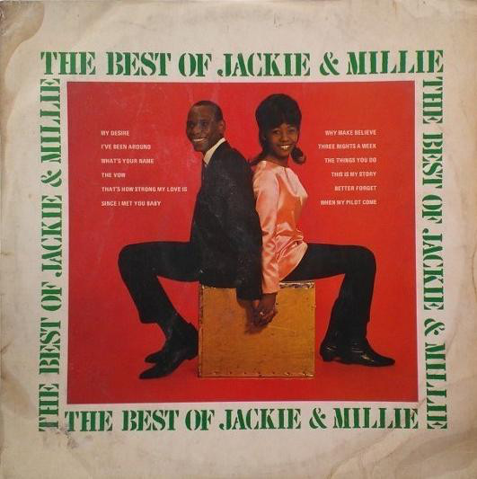 Jackie And Millie - The Best Of Jackie & Millie (LP, RE)