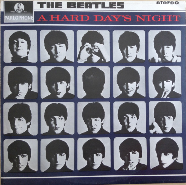 The Beatles - A Hard Day's Night (LP, Album, RE)