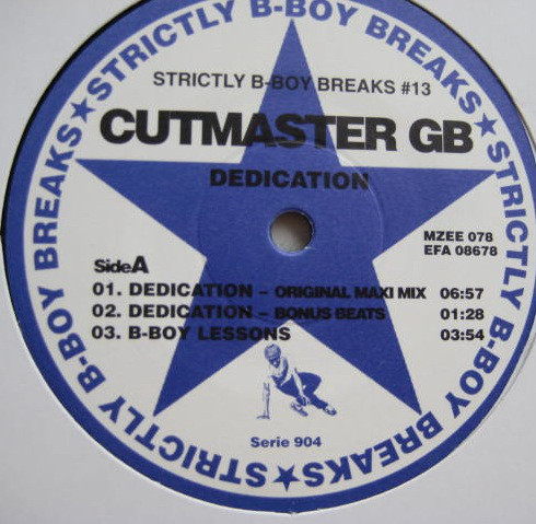 Cutmaster GB - Dedication (12