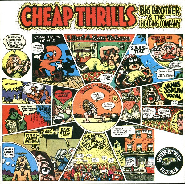 Big Brother & The Holding Company - Cheap Thrills (LP, Album)