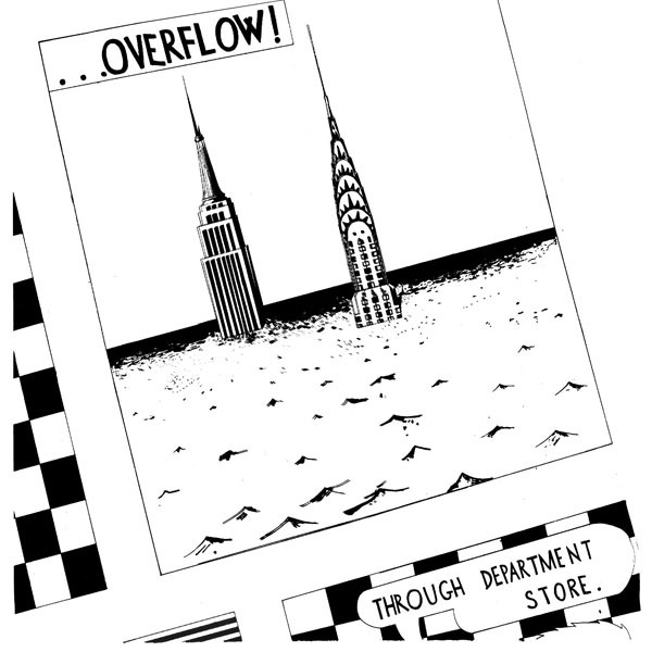 Overflow (11) - Through Department Store (LP, Album)