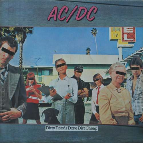 AC/DC - Dirty Deeds Done Dirt Cheap (LP, Album, RE)
