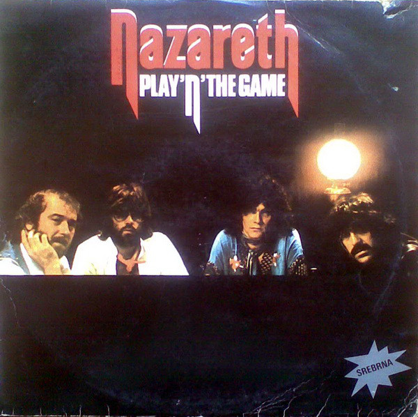 Nazareth (2) - Play'n' The Game (LP, Album, RE, RP)