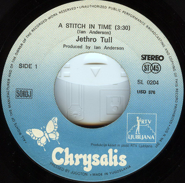 Jethro Tull - A Stitch In Time (7