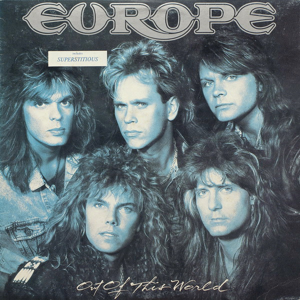 Europe (2) - Out Of This World (LP, Album)