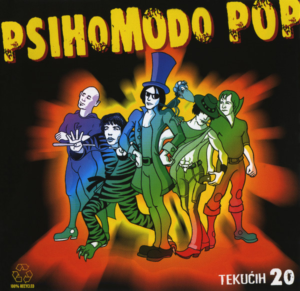 Psihomodo Pop - Tekućih 20 (2xCD, Album, Comp)