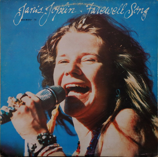 Janis Joplin - Farewell Song (LP, Album)