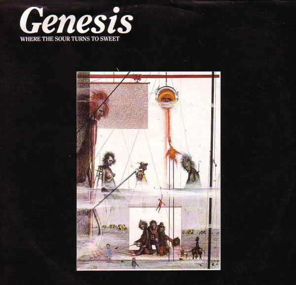 Genesis - Where The Sour Turns To Sweet (LP, Album, Ltd, RE)