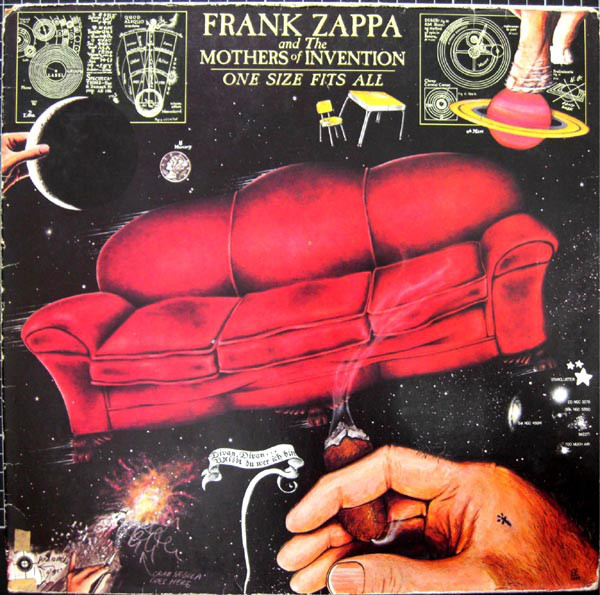 Frank Zappa And The Mothers Of Invention* - One Size Fits All (LP, Album, Gat)