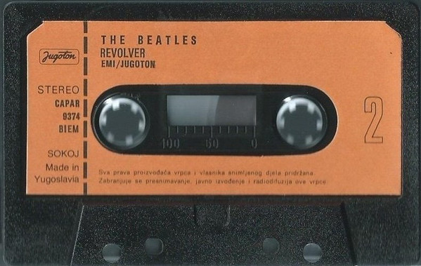 The Beatles - Revolver (Cass, Album, RE)