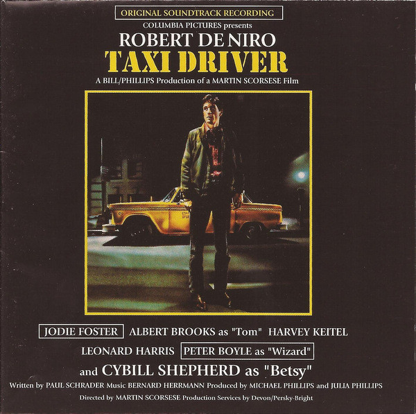 Bernard Herrmann - Taxi Driver (Original Soundtrack Recording) (CD, Album, RE, RM)