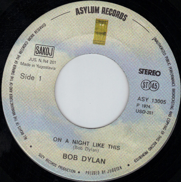 Bob Dylan - On A Night Like This (7