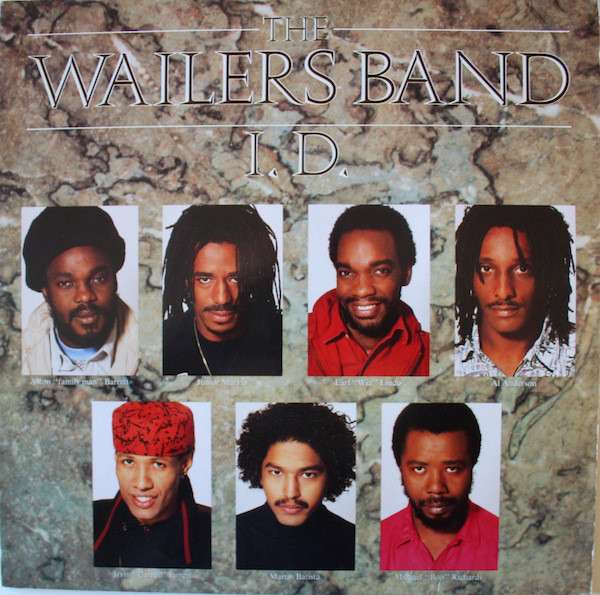 The Wailers Band - I.D. (LP, Album)