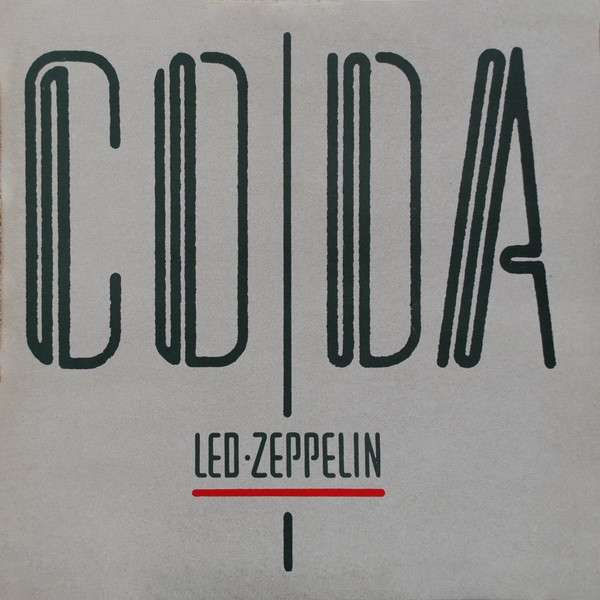 Led Zeppelin - Coda (LP, Album, Gat)