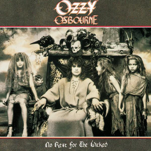 Ozzy Osbourne - No Rest For The Wicked (LP, Album)