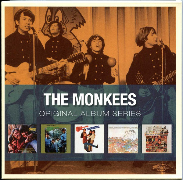 The Monkees - Original Album Series (5xCD, Album, RE + Box, Comp)