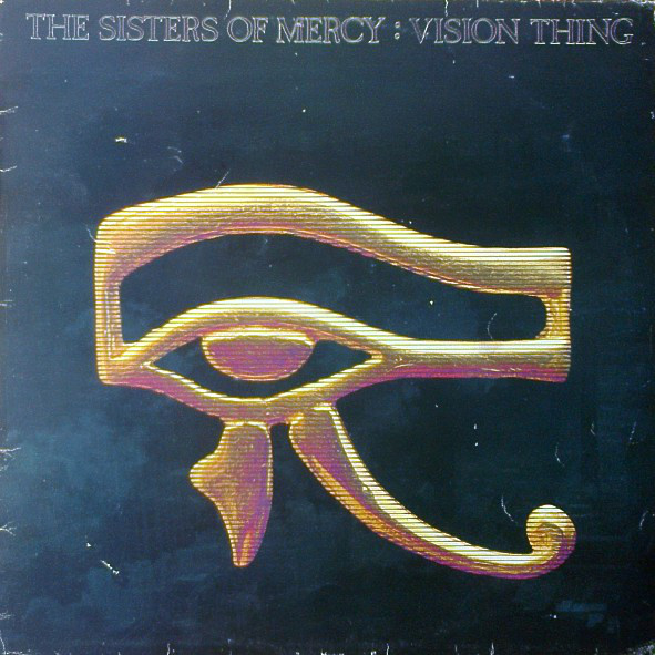 The Sisters Of Mercy - Vision Thing (LP, Album)