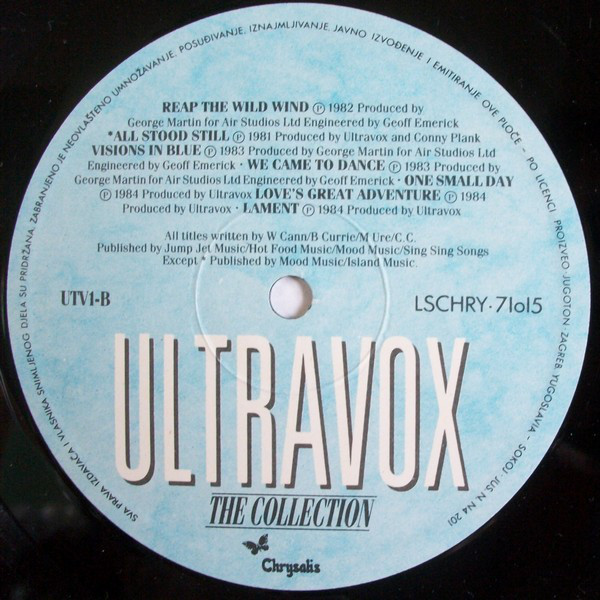 Ultravox - The Collection (LP, Comp)
