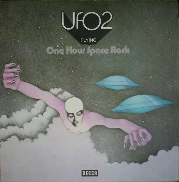 UFO (5) - UFO 2 - Flying - One Hour Space Rock (LP, Album, Gat)