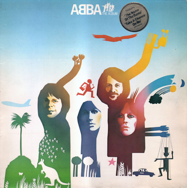 ABBA - The Album (LP, Album, Gat)