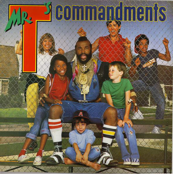 Mr. T (2) - Mr. T's Commandments (LP)