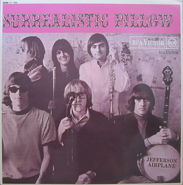 Jefferson Airplane - Surrealistic Pillow (LP, Album, RE)