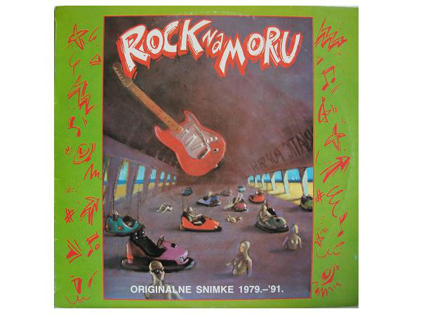 Various - Rock Na Moru - Originalne Snimke 1979.-'91. (LP, Comp)