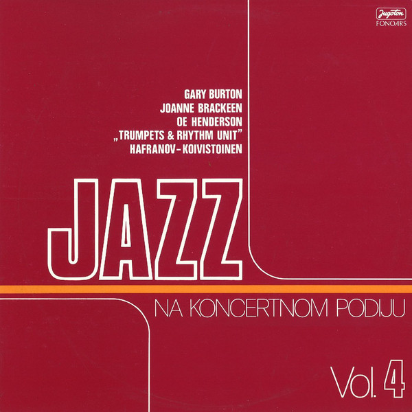 Various - Jazz Na Koncertnom Podiju Vol. 4 (LP)