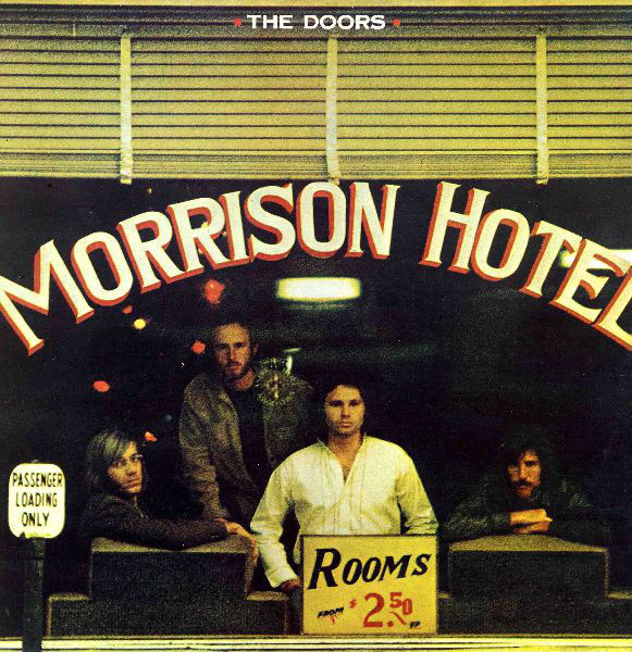 The Doors - Morrison Hotel (LP, Album, RE, Gat)