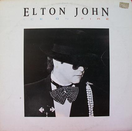Elton John - Ice On Fire (LP, Album)