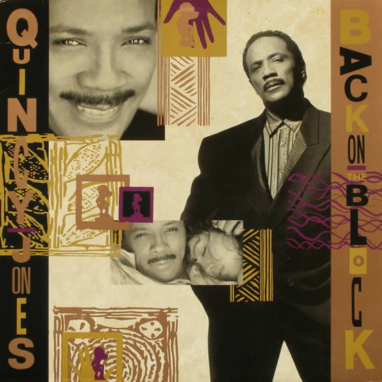 Quincy Jones - Back On The Block (LP, Album)