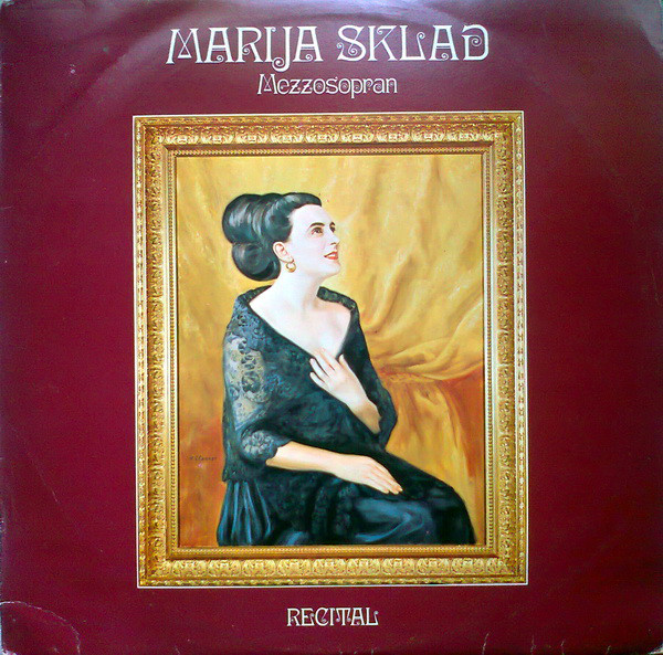 Marija Sklad - Recital (LP, Album)
